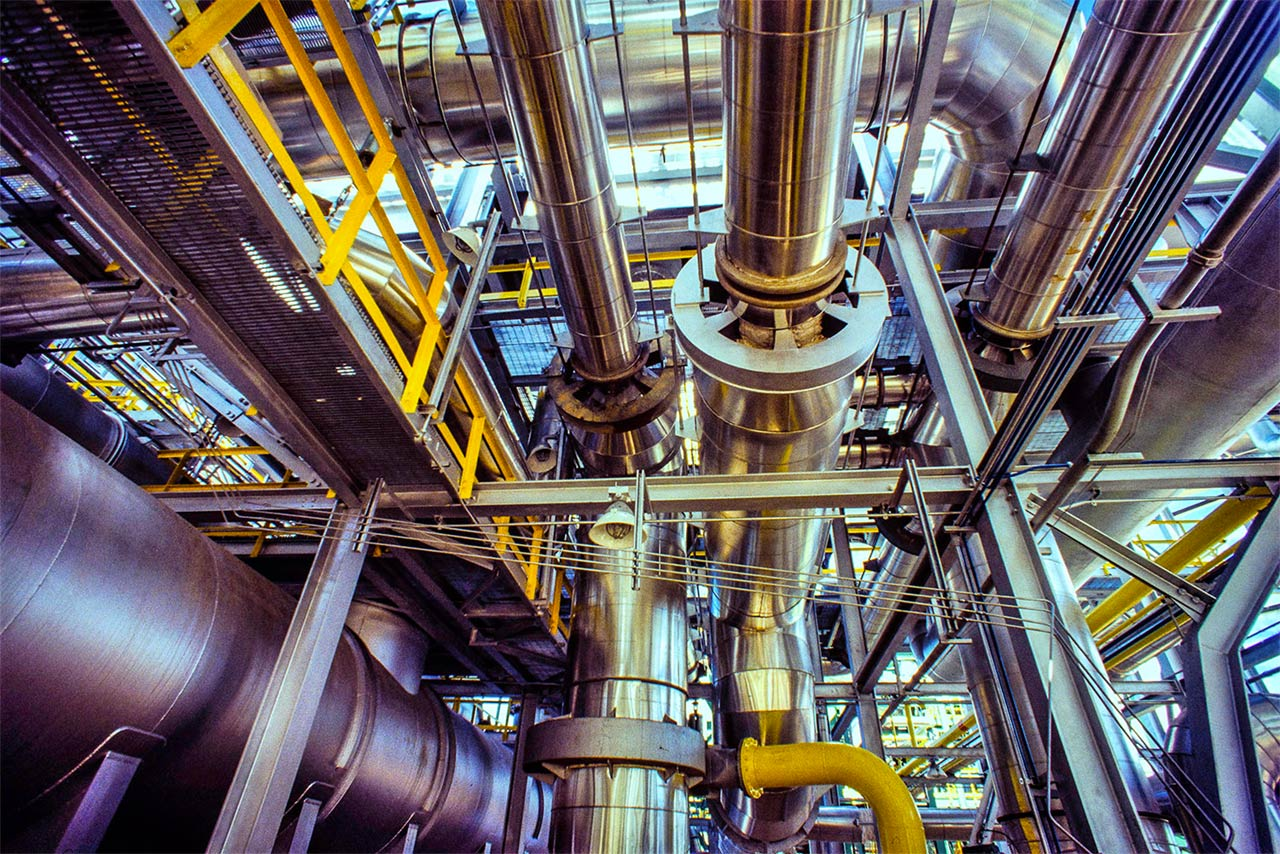 Conduites de gaz, de pétrole et de gaz combustible