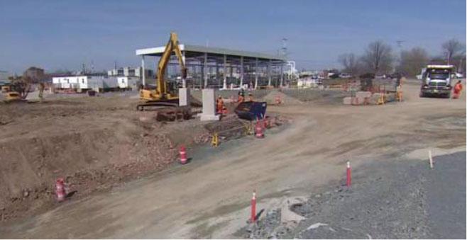 Construction du Parc de réservoirs d'Irving Oil