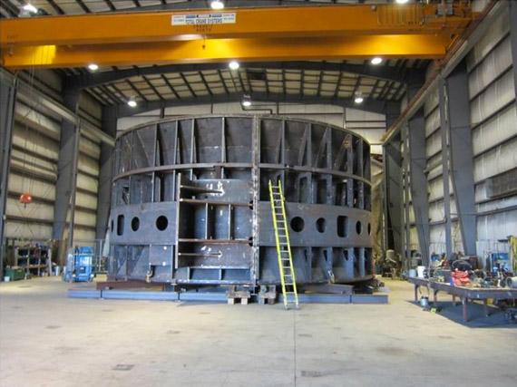 Construction d'une unité marémotrice pour Alstom Hydro