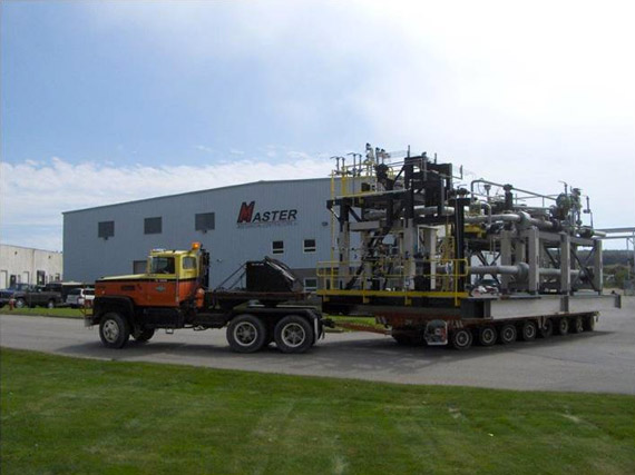 High Pressure Pump Modules at Fabrication Facility
