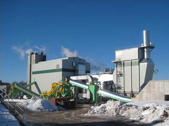 Construction d'une chaudière à biomasse, JDI Lake Utopia