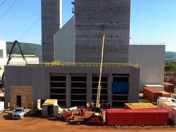 Bâtiment d'aération de la mine Picadilly