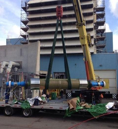 Photo from Emera Energy Bayside Generating Station